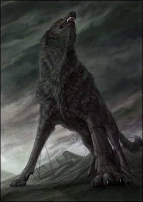 Dans la mythologie nordique, Fenrir est un...