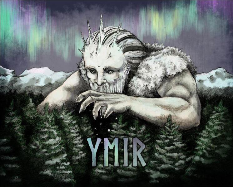 Un satellite découvert en août 2000 porte le nom d'Ymir. Qui est Ýmir dans la mythologie nordique ?