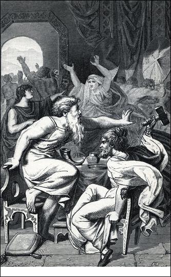 Il existe un satellite de Saturne qui porte le nom d'un voleur, Þrymr. Mais au juste, qu'a-t-il volé ?