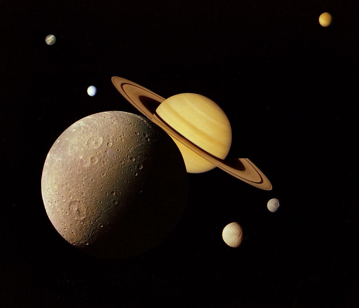 Les satellites de Saturne et la mythologie nordique