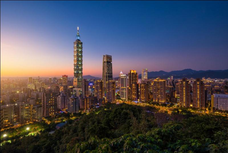 La capitale de Taïwan est...