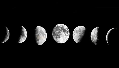 Quel phénomène cause les phases de la Lune ?