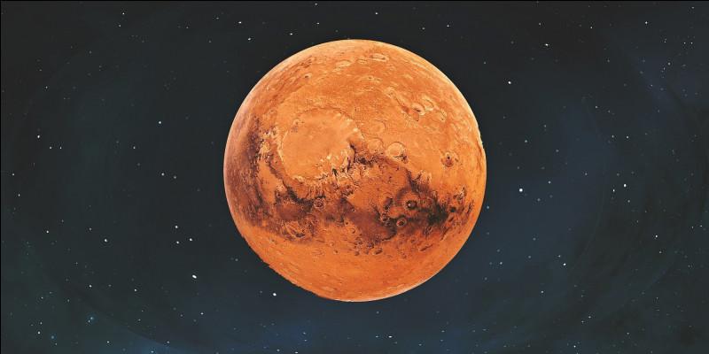 La planète Mars a, en première approximation, la forme d'une sphère de rayon R.Quelle est la formule qui donne la surface de Mars ?