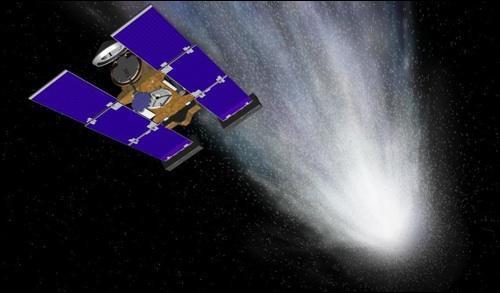 Quelle formule donne l'aire d'un panneau solaire de Stardust ?