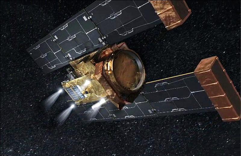 L'antenne de la station Stardust a la forme d'un cercle de rayon R.Quelle formule donne le périmètre de l'antenne ?