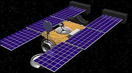 Quelle formule donnera la surface de l'antenne de la station Stardust ?