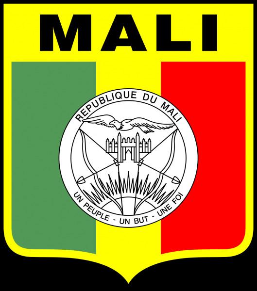 Dans quelle partie du monde se trouve le Mali, dont vous voyez le drapeau de l'équipe olympique de foot en photo ?
