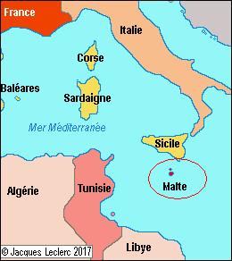 """Malte est un État insulaire situé en Méditerranée, dont la capitale fut la """"capitale européenne de la culture"""" en 2016. Quel est son nom ?"""