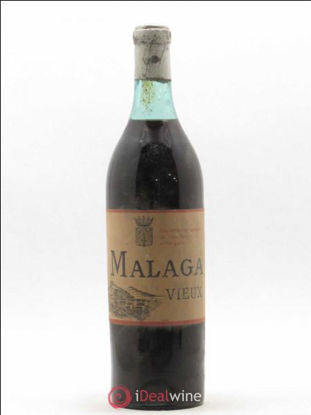 """La région de Malaga a donné son nom à un vin doux naturel classé en """"dénomination d'origine"""" depuis 1973. Dans quel pays se trouve Malaga ?"""