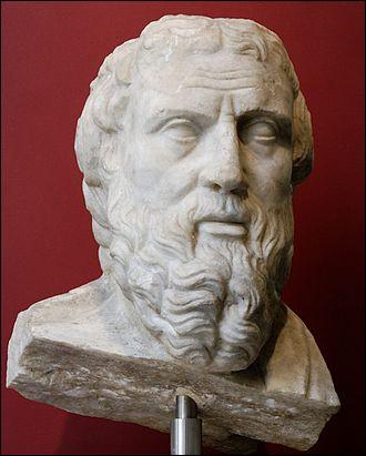 """Ce Grec, historien et géographe a dit : """"On ne guérit pas le mal par le mal"""". Quel est son nom ?"""