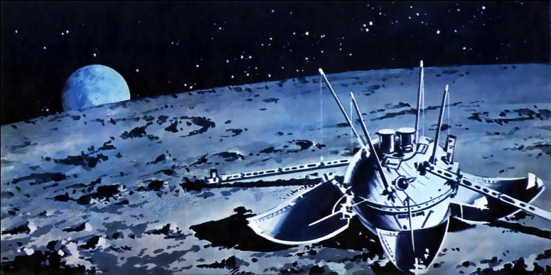 En 1966, cette sonde soviétique réalise le premier alunissage, et transmet les premières images prises depuis la surface lunaire.Comment s'appelle-t-elle ?