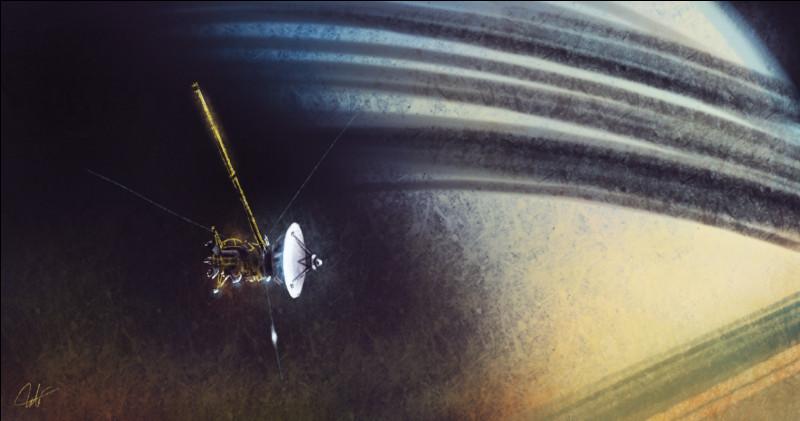 Placée en orbite autour de Saturne depuis 2004, cette sonde spatiale a transmis des milliers d'images spectaculaires.Quel est son nom ?