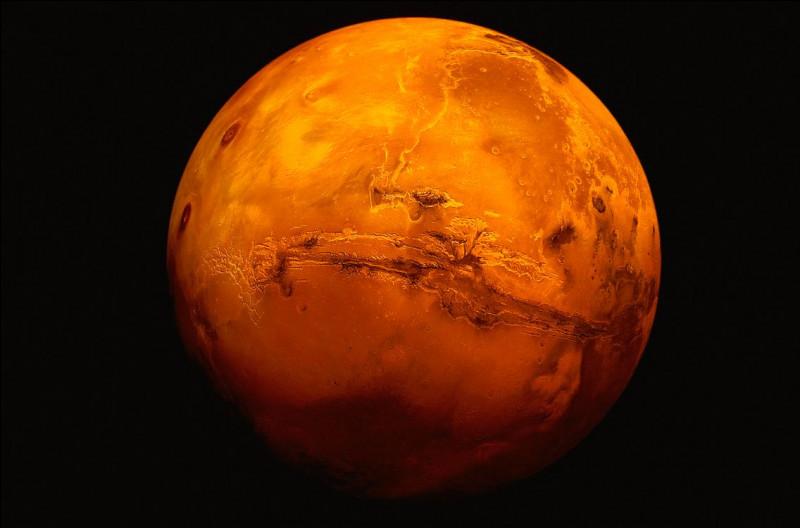 Pourquoi la planète Mars est-elle rouge ?
