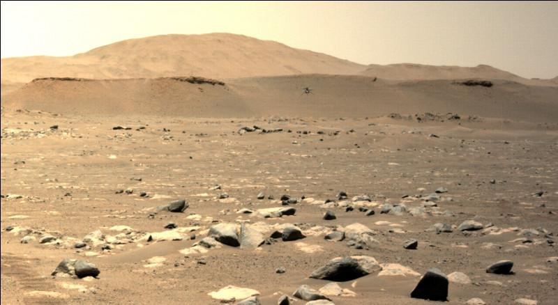 Existe-t-il des océans à la surface de la planète Mars ?