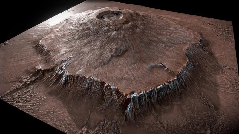 Le plus grand volcan du Système solaire se situe sur la planète Mars. Savez-vous son nom ?
