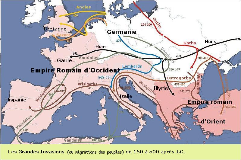 Seulement interrompues, ces révoltes reprendront au IVe s., en Gaule comme en Hispanie, lors ... (Complétez !)
