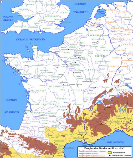 Nous sommes à la fin du IIIe s., en 284* : Des gaulois se révoltent contre [...] et commencent à s'armer en [...]. (Complétez les trous !)