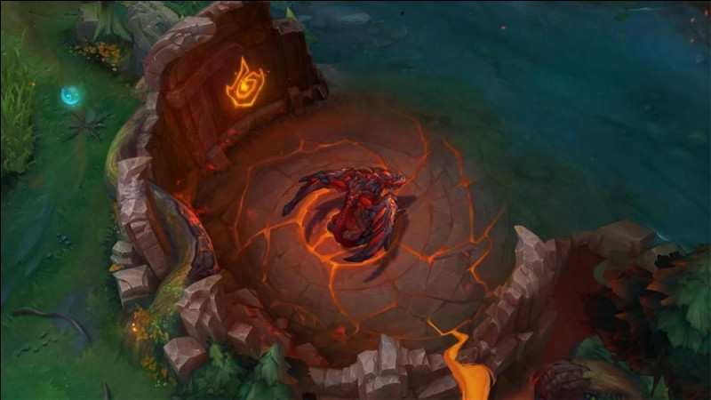 Avec le dragon des montagnes, combien de rochers fait-il apparaître sur la map ?