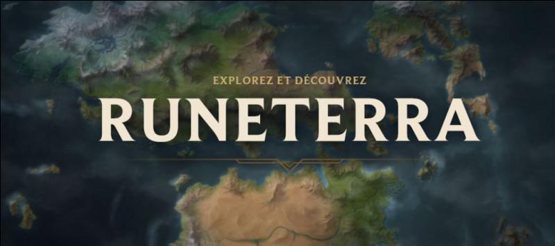Combien de régions comporte Runeterra ?