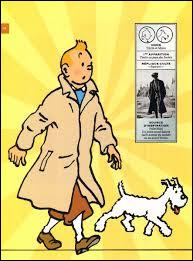 C'est une bande dessinée où le héros vit des aventures avec son chien. Il s'agit de :