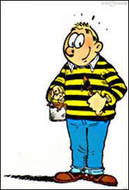 C'est une bande dessinée où le personnage principal essaye différents moyens pour tricher en cours. Il s'agit de :
