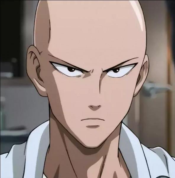 """Dans l'animé """"One Punch Man"""", pourquoi le héros principal est-il chauve ?"""