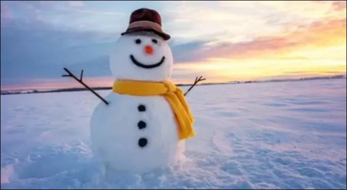 Quel est le comble d'un bonhomme de neige ?