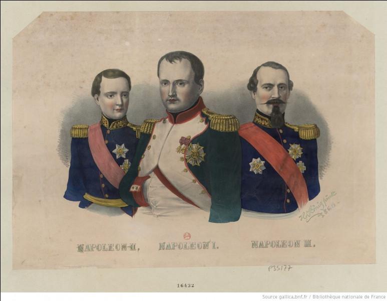 Les Bonaparte !Du premier au troisième, ils ont marqué le dix-neuvième siècle. D'ailleurs, quel est le lien de parenté entre Napoléon Bonaparte et Napoléon III ?
