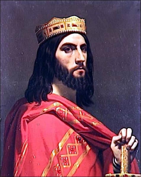 """Il est célèbre de par la chanson """"Le Bon Roi Dagobert"""", datant du dix-huitième siècle. Pourtant, le règne de Dagobert Ier est bien plus ancien. Il se situe entre octobre 629 et janvier 638 ou 639, soit plus de 1000 ans après !De quelle dynastie est-il issu et de quel roi était-il l'arrière-arrière-petit-fils ?"""