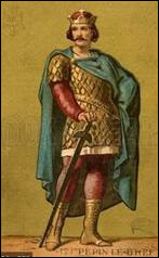 Pépin le Bref (714-768) est le fondateur de la dynastie carolingienne. Il a été maire du palais après son père (très célèbre) puis devint roi des Francs de 751 à 768. Quel était le nom de son père et celui d'un de ses fils qui deviendra empereur ?