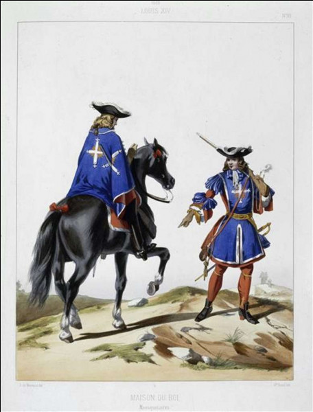 La Compagnie des Mousquetaires du Roi est un corps militaire regroupant les branches de la cavalerie et de l'infanterie. Elle fut créée en 1622 et complètement dissoute en 1816 par Louis XVIII.Par quel roi, ce corps militaire fut-il créé ?