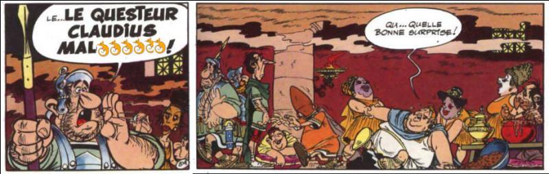 Au propre comme au figuré, on peut dire que ce questeur romain a le nez fin. Comment se nommait-il, déjà ?