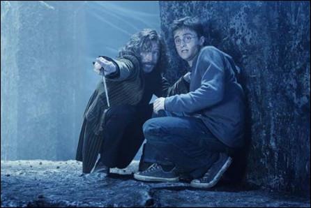 Qui accompagne Harry, Ron et Hermione à la bataille du Département des mystères ?