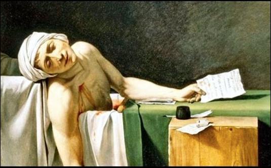 Qui est ce médecin, physicien, journaliste et homme politique français, assassiné dans sa baignoire par Charlotte Corday le 13 juillet 1793 ?