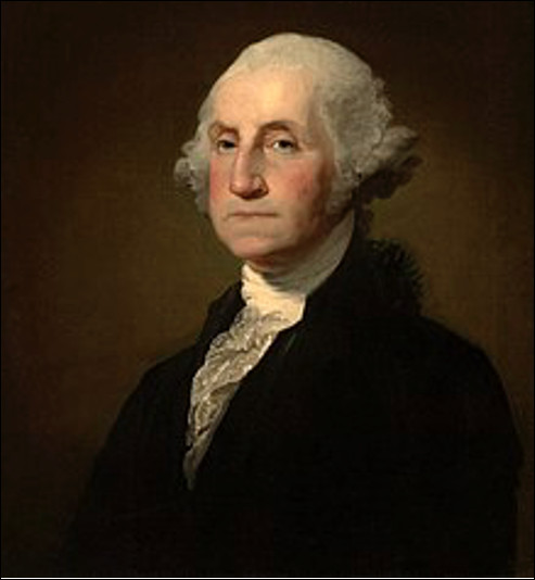 Qui est cet homme d'État américain, premier président des États-Unis de 1789 à 1797 ?