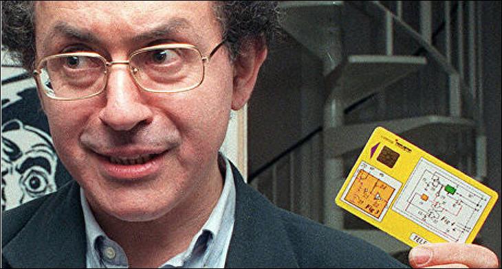 Qui est l'inventeur français de la carte à puce en 1974 ?