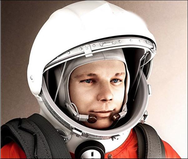 Qui est ce cosmonaute, premier être humain à avoir effectué un vol dans l'espace le 12 avril 1961 ?