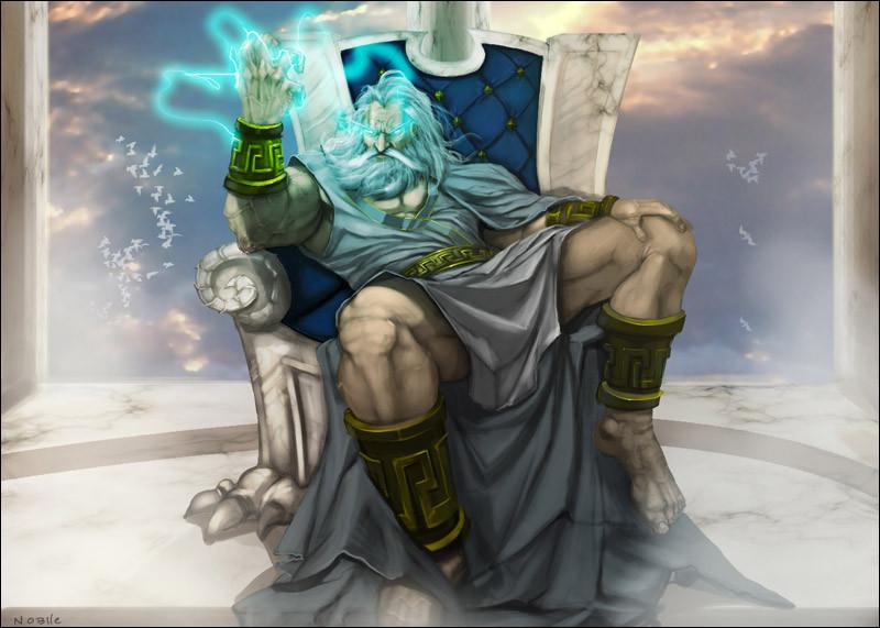 Quelles affirmations sur Zeus sont vraies ? (pour chaque question, il y a toujours 3 bonnes réponses)