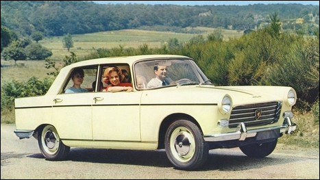Quelle est cette routière française des année 60 ?