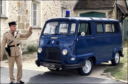 Mince c'est cuit ! Quel est cette camionnette de gendarmerie des années 70 ?