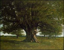 Arts   Qui a-t-il peint « Le Chêne de Flagey » ?