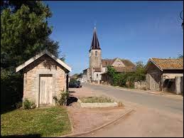 Village d'Auvergne-Rhône-Alpes, sur les bords de la Saône, Vésines se situe dans le département ...