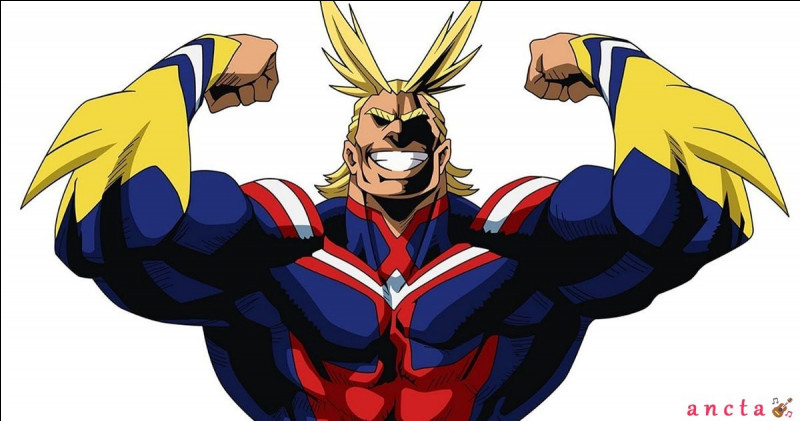 Dans le manga ''Boku no Hero Academia'', quel héros étant dans le top 5 du classement des héros n'était pas là lors du premier combat d'All Migth et de All For One ?