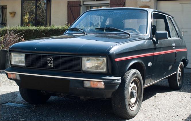C'est une Peugeot 104 ZS.