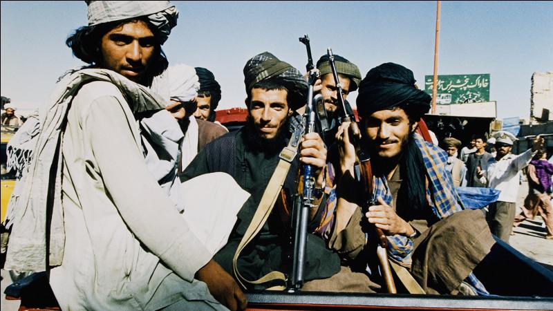 Quand les talibans s'étaient-ils déjà emparés du pouvoir ?