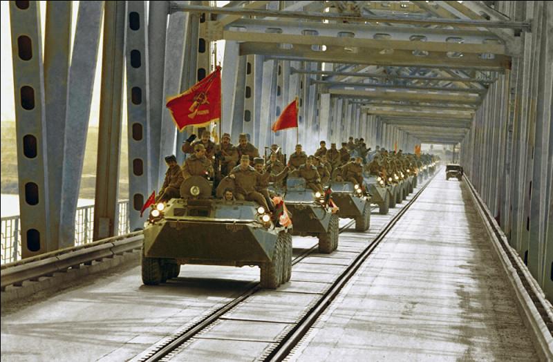 Quand l'armée soviétique avait elle quitté l'Afghanistan ?