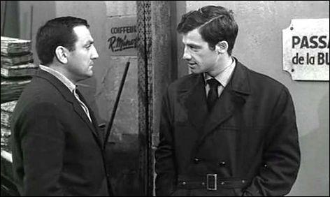 Dans ce film de Claude Sautet, sorti également en 1960, il est Éric Stark, qui aide Abel Davos (Ventura), gangster condamné à mort par contumace et recherché par la police. C'est ...