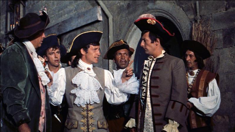 Dans ce film d'aventures qui connait un grand succès à sa sortie en 1962, il joue le personnage d'un brigand au grand coeur : c'est ...