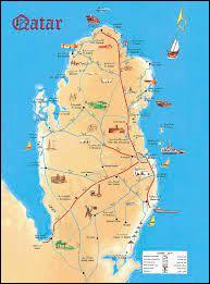 Quel est le seul pays à partager une frontière terrestre avec le Qatar ?
