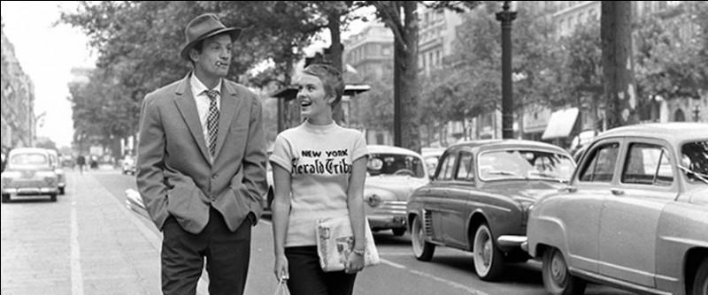 """Quelle actrice accompagne Jean-Paul Belmondo dans le film """"À Bout de souffle"""" ?"""